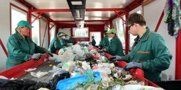 На Франківщині відкрили нову лінію для сортування сміття. ФОТО