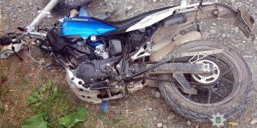 На Коломийщині мотоцикліст на швидкості врізався у BMW – двоє людей у лікарні. ФОТО