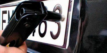 У Коломиї затримали ще одного крадія номерних знаків з автівок