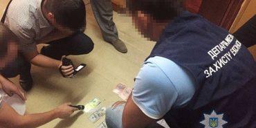 На Прикарпатті на хабарі затримали директора коледжу. ФОТО