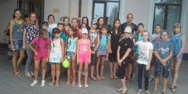 Діти із Волновахи приїхали до літнього табору Прикарпаття