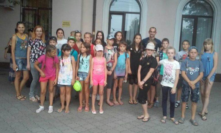 Діти із Волновахи приїхали до літьного табору Прикарпаття