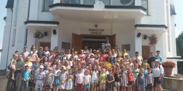 """У Коломиї діє християнський табір для дітей """"Веселі канікули з Богом"""". ФОТО"""