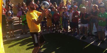 """У Городенці відбувається футбольне свято """"Вірні збірній"""". ФОТО"""