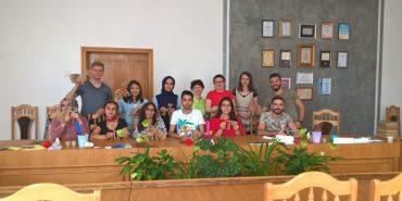 На Прикарпатті турецькі студенти вивчають українську мову. ФОТО