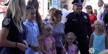 Діти прикарпатських поліцейських поїхали відпочивати до Чорного моря. ФОТО