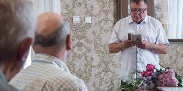 Василь Нагірний презентував нову книгу у свій ювілей. ФОТО