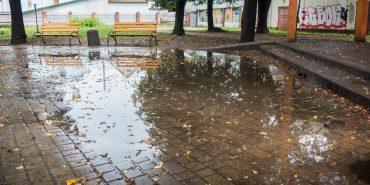 Коломия у воді: як виглядають дороги після дощів. ФОТО