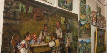 Ріка пам'яті. У Коломиї відкрили виставку до 100-річчя Петра Сахра. ФОТО