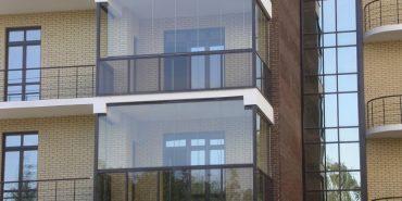 При проектуванні нових будинків дозволять склити балкони