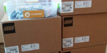 Коломийщина отримала набори Lego для першокласників. ФОТО