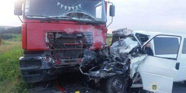 Відомі деталі моторошної аварії на Франківщині, у якій загинуло четверо людей. ФОТО