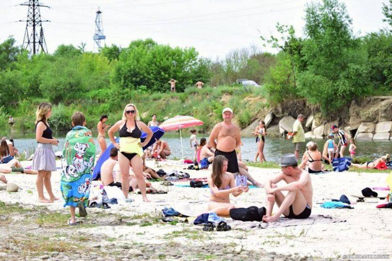 Безпечні пляжі в Івано-Франківській області