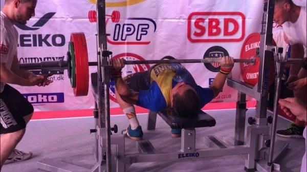 Житель Коломиї став чемпіоном Європи з пауерліфтингу серед юнаків. ФОТО