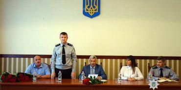 У Івано-Франківській області поміняли керівників поліції. ФОТО