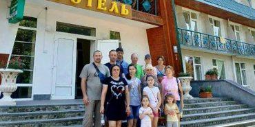 """Учасники АТО разом з сім'ями безкоштовно відпочивали в """"Синьогорі"""". ФОТО"""