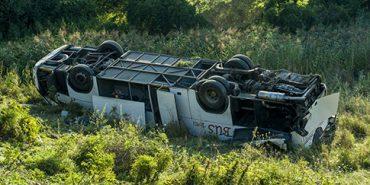 Автобус з українцями потрапив у ДТП в Угорщині – 13 постраждалих, один у комі. ФОТО