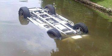 Рятувальники знайшли на Коломийщині тіло пасажира авто, яке перекинулося в річку