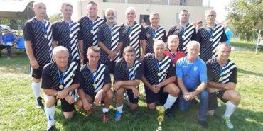 На Коломийщині відбувся ветеранський турнір з футболу. ФОТО