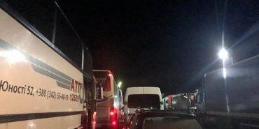 Уночі пункти пропуску на польському кордоні кілька годин були заблоковані. ФОТО