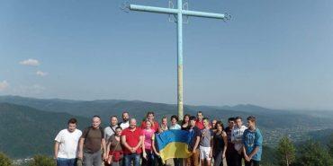 З нагоди Дня Незалежності молодь Городенківщини підкорила чергову вершину Карпат. ФОТО