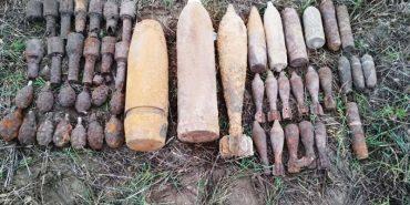 17 мін і 13 гранат часів Другої світової знайшли на Коломийщині