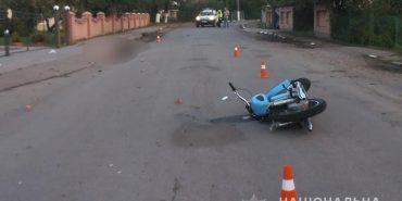 У Снятині мотоцикл врізався в паркан – водій загинув. ФОТО