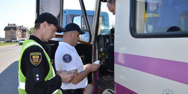 """Операція """"Перевізник"""": понад 700 несправних автобусів і 21 нетверезий водій"""