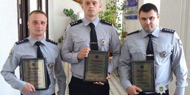 На Франківщині нагородили поліцейських за розкриття резонансного злочину – спроби батька продати сина. ФОТО