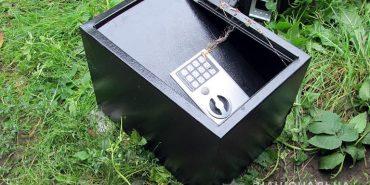 На Франківщині пасинок вкрав у вітчима сейф з грошима, щоб віддати борг. ФОТО