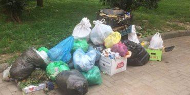 Коломиян просять не створювати у середмісті сміттєзвалища. ФОТО