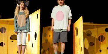 """Коломийський театр запрошує дітей на казку """"Всі миші люблять сир"""""""