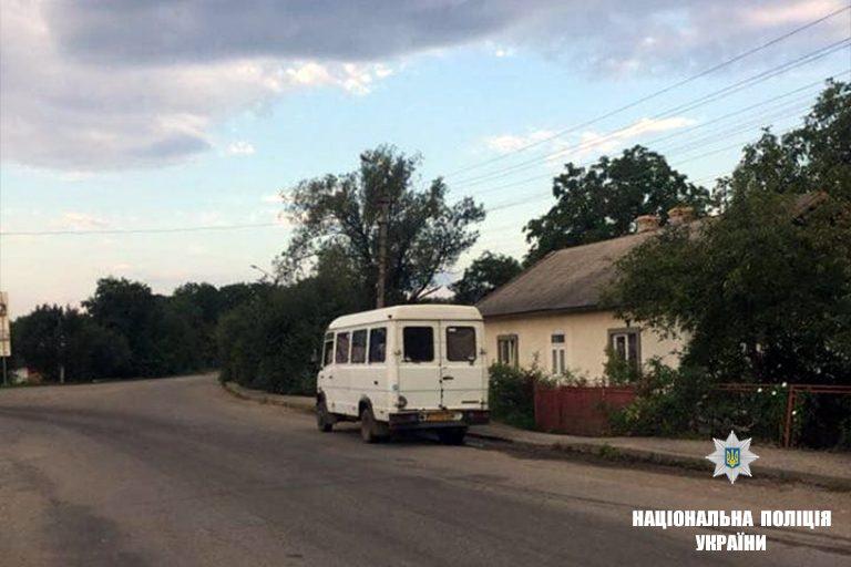 На Франківщині водій напідпитку перевозив пасажирів. ФОТО