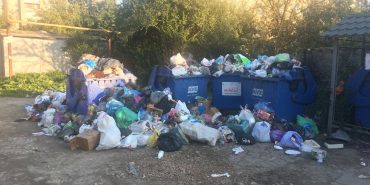 """""""АВЕ Коломия"""" знову не вивозить сміття"""