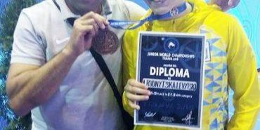 Борчиня з Прикарпаття здобула бронзову медаль на чемпіонаті світу. ФОТО
