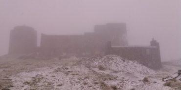 У Карпатах випав перший сніг. ФОТОФАКТ