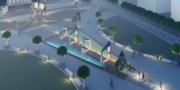Сучасна архітектура на площі Героїв: чи готова Коломия? Інтерв'ю з авторами проекту. ЕКСКЛЮЗИВНІ ФОТО