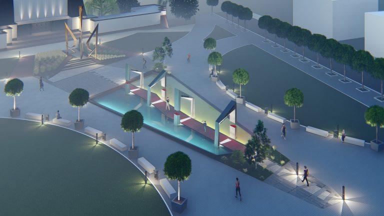 Сучасна архітектура на площі Героїв: чи готова Коломия? Інтерв'ю з архітекторами проекту. ЕКСКЛЮЗИВНІ ФОТО