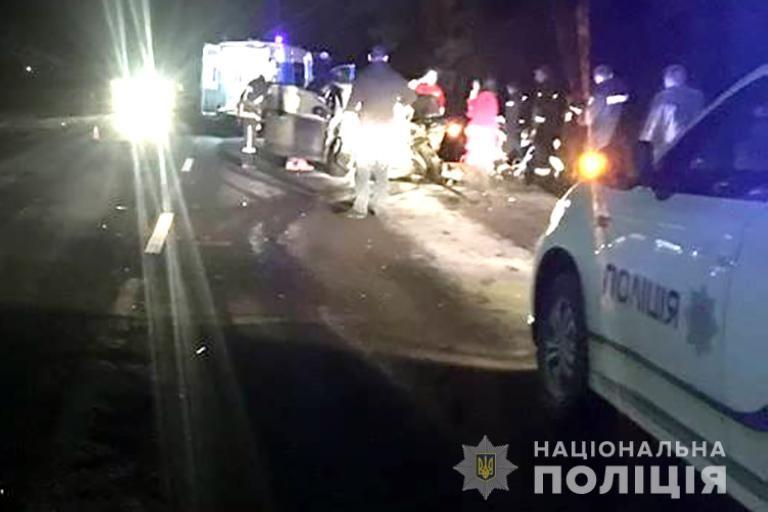 На Франківщині зіткнулися два автомобілі, є постраждалі. ФОТО