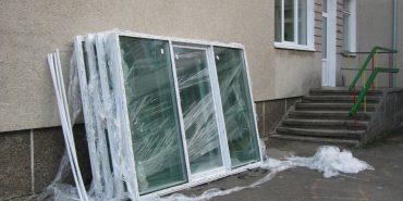 В садочках міста проводять заміну вікон