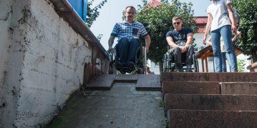 Чи дбають у Коломиї про комфорт людей з інвалідністю? ЕКСПЕРИМЕНТ