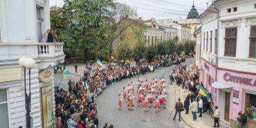 Фоторепортаж з Дев'ятого Січового свята у Коломиї: як це було