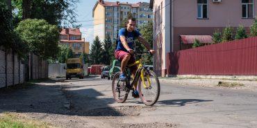 Чи пристосована Коломия для велосипедистів?