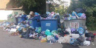 Коломияни знову скаржаться, що АВЕ не вивозить сміття. ФОТО