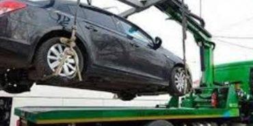 У боржника з аліментів поліція забрала автомобіль прямо по дорозі на море. ФОТО