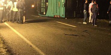 Деталі смертельної аварії, в яку потрапив автобус з українськими заробітчанами. ВІДЕО
