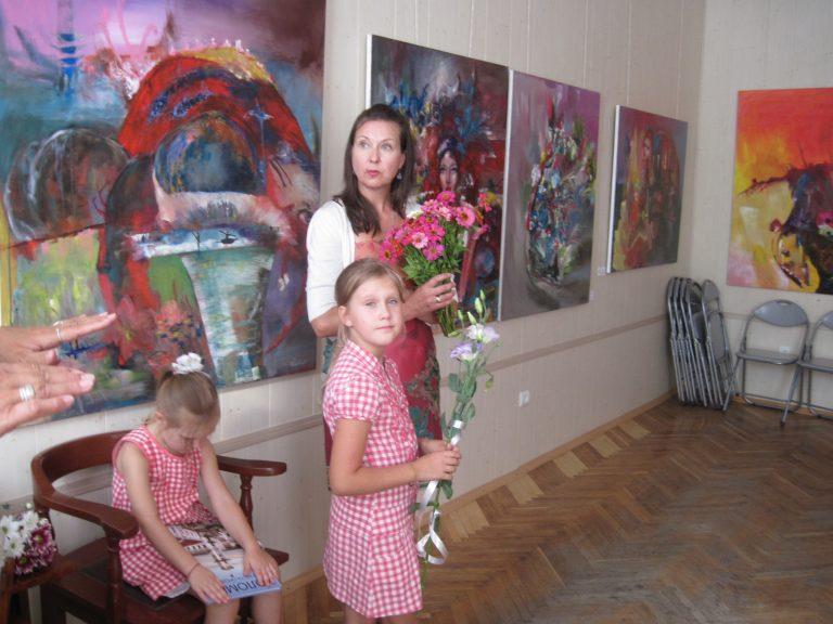 Експресія почуттів: у Коломиї відкрили виставку Номеди Чюрльоніте. ФОТО
