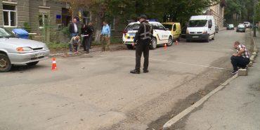 У Коломиї велосипедист постраждав у ДТП. ВІДЕО