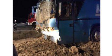 Автобус, який їхав з Варшави у Коломию, потрапив у ДТП. ФОТО