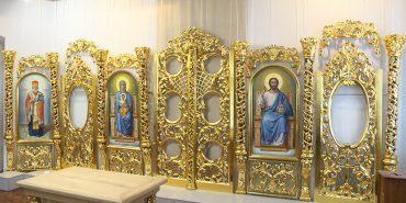 Іконостаси, престоли, вівтарі: у Коломиї відкрили виставку релігійних предметів. ВІДЕО